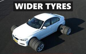 Son mejores los neumáticos más anchos? Esto es lo que debe saber sobre los neumáticos más anchos