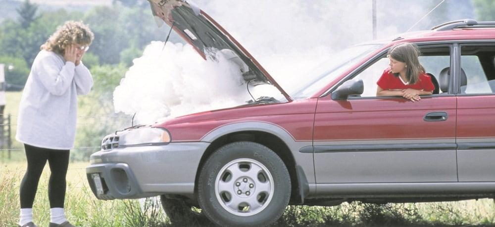 Sobrecalentamiento de autos