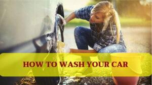 Cómo lavar, limpiar el interior y encerar su vehículo