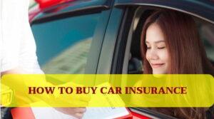 Cómo comprar un seguro de automóvil 2021?