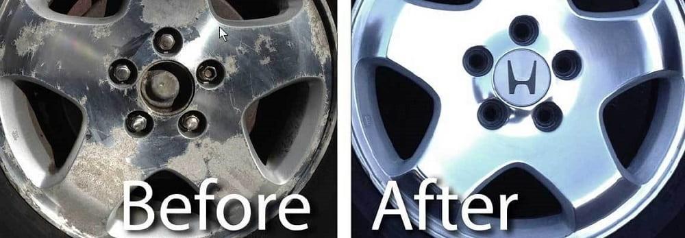 Cómo refinar las ruedas de aluminio