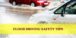 Consejos de seguridad para conducir en una inundación