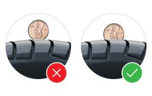 La prueba de Penny: cómo saber si necesita neumáticos nuevos