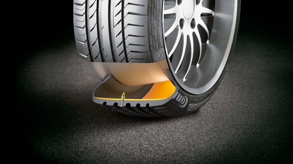 Los pros y los contras de los neumáticos desinflados