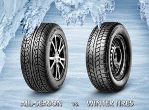 Neumático de invierno y nieve y neumático para todas las estaciones: lo cual es mejor?